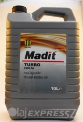 MADIT Turbo 20W50 10L