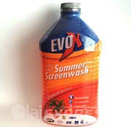 Szélvédőmosó nyári EVOX Tropical 4l