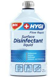 MOL Hygi Flow Rapid 2L Rapid felület fertőtlenítő folyadék