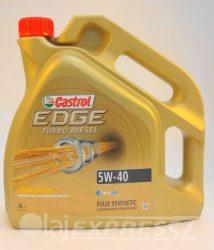 CASTROL EDGE TITANIUM TURBO D 5W40 4L
