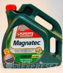 CASTROL Motorolaj MAGNATEC 15W40 4 l