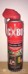 CX-80 500 ml szórófejes Univerzális kenő , védő, kontaktjavító, nedvességkiszorító, zár-jégtelenítő spray