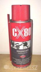 CX-80 100 ml Univerzális kenő, védő, kontaktjavító, nedvességkiszorító, zár-jégtelenítő spray
