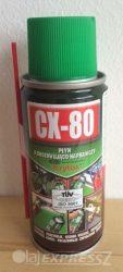 CX-80 Krytox teflon adalékkal100 ml univerzális kenő, védő, tisztító, nedvességkiszorító, rozsdavédő spray