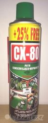 CX-80 Krytox teflon adalékkal 500ml univerzális kenő, védő, tisztító, nedvességkiszorító, rozsdavédő spray