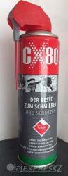 CX-80 Krytox teflon adalékkal 500ml szórófejes  univerzális kenő, védő, tisztító, nedvességkiszorító, rozsdavédő spray