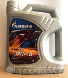 GAZPROM Motorolaj Super 10W40 4L