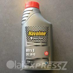 TEXACO Havoline Ultra S 5W40 1L