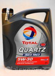 TOTAL Motorolaj QUARTZ INEO MC3 5W30 5L
